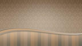 Leichter brauner Hintergrund mit einem Muster stock abbildung