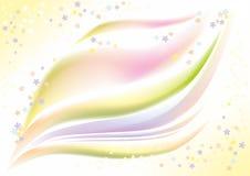 Leichter Frühlingshintergrund mit kleinen Farben Stockfoto