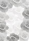 Leichter Hintergrund mit schönen Rosen Stockfotografie