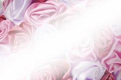 Leichter Hintergrund von den rosa Knospen, einer eines großen Satzes Blumenhintergründe Stockfoto