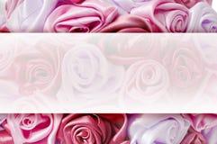 Leichter Hintergrund von den rosa Knospen, einer eines großen Satzes Blumenhintergründe Stockfotos