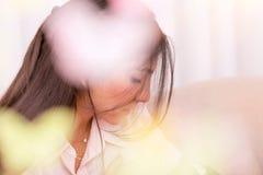 Leichtes Frauenporträt Lizenzfreie Stockbilder