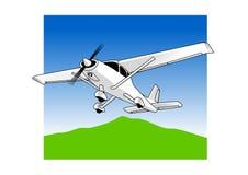 Leichtflugzeug Stockfoto