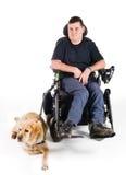 Leid hond Royalty-vrije Stock Foto's