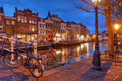 Leida, Paesi Bassi Fotografie Stock