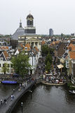 Leiden from above, The Netherlands Stock Photography