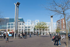 Leiden Centraal Stock Photo