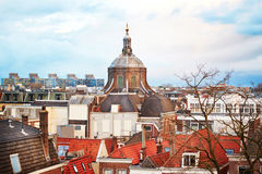 Leiden city, Netherlands Royalty Free Stock Photography