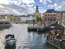 Leiden, die Niederlande stockfotos