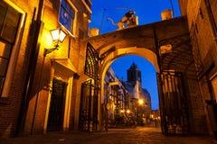 Leiden gate royalty free stock photo