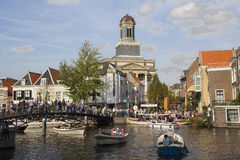 Leiden, Holland Royalty Free Stock Photo