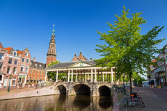 Leiden Koornbrug Royalty-vrije Stock Afbeelding