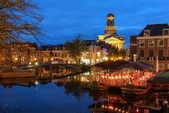 Leiden Nederländerna Royaltyfri Fotografi