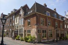 Leiden, Nederland - Juli 17, 2018: Amerikaans de Pelgrimsvet van Leiden royalty-vrije stock afbeelding