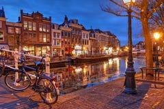 Leiden Nederländerna Arkivfoton