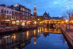Leiden, os Países Baixos Fotografia de Stock