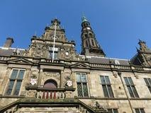 Leiden stadshus Royaltyfri Bild