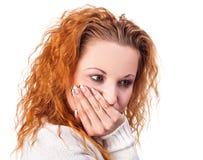 Leiden unter Zahnschmerzen Lizenzfreie Stockfotografie