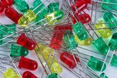 LEIDENE diode stock foto's