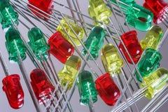 LEIDENE diode royalty-vrije stock foto