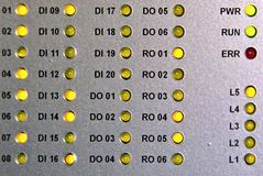 LEIDENE dioden Stock Foto