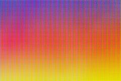 LEIDENE gloeilampendiode van het scherm van de computermonitor Royalty-vrije Stock Foto's