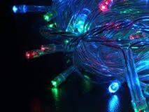 LEIDENE kleurenlampen Royalty-vrije Stock Foto's