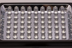 LEIDENE lampmacro Royalty-vrije Stock Afbeelding