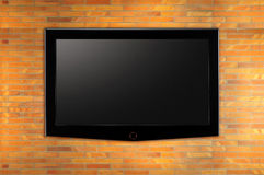 LEIDENE Televisie. stock fotografie