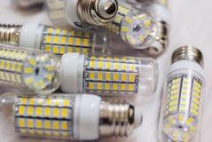 LEIDENE verlichtingslampen Stock Foto