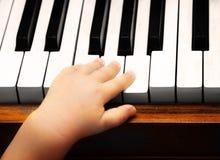 Leidenschaft für Musik Stockbild