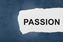 Leidenschaft mit Weißbuchrissen Lizenzfreie Stockbilder