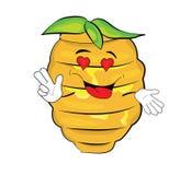 Leidenschaftliche Bienenstockkarikatur Lizenzfreies Stockbild