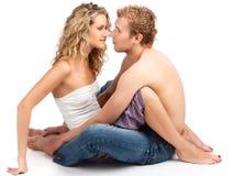 Leidenschaftliche Paare. Lizenzfreie Stockbilder
