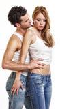 Leidenschaftliche Paare Stockfoto