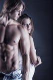 Leidenschaftliche Paare Stockbild
