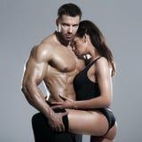 Leidenschaftliche Paare Stockfotografie