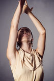 Leidenschaftlicher Flamencotänzer Stockfotografie