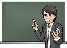 Leidenschaftliche Cramschool Lehrerlektion Lizenzfreie Stockfotografie