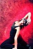 Leidenschaftlicher Tanz Stockfotografie