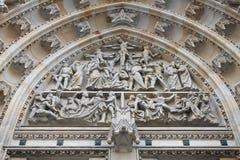 Leidenschafts-Szenen Carvings Lizenzfreies Stockbild