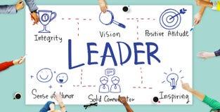 Leider Authority Boss Coach Directeur Manager Concept Stock Fotografie