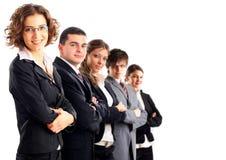 Leider en haar team Stock Afbeelding