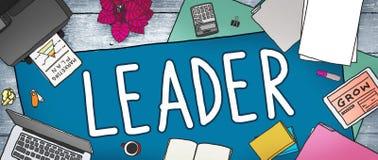 Leider Leadership Manager Management Directeur Concept stock illustratie