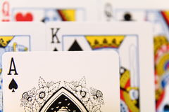 Leiding - spelkaart II Stock Fotografie