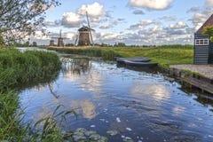 Leidschendam Bovenmolen风车 库存照片