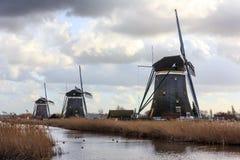 Leidschendam Bovenmolen windmills  Stock Images