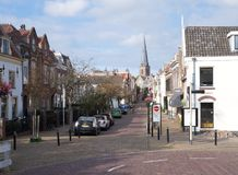 Leidschendam-Vooorburg, the Netherlands. October 2018. The village of Leidschendam Voorburg in the Netherlands stock photography
