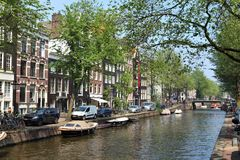 Leidsegracht, Amsterdam Stock Images