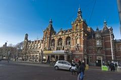 Leidseplein阿姆斯特丹 库存照片